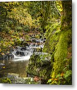 Starvation Creek Metal Print