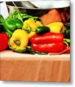 Still Life - Vegetables Metal Print