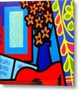 Still Life With Henri Matisse's Verve Metal Print