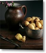 Still Life With Potatoes Metal Print