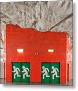 Stockholm Metro Art Collection - 005 Metal Print