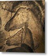 Stone-age Cave Paintings, Chauvet, France Metal Print