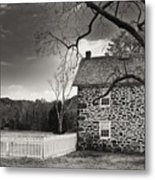 Stone Farmhouse Metal Print