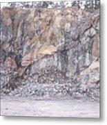 Stone Mine Metal Print