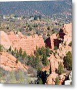 Stone Quarry At Red Rock Canyon Open Space Park Metal Print
