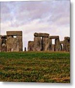 Stonehenge England United Kingdom Uk Metal Print