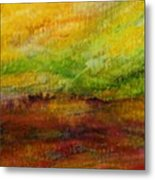 Storm At Sunrise Metal Print