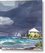 Storm Over Key West Metal Print