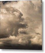 Storm Over Table Rock Metal Print