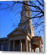 St.philips Episcopal Church In Charleston Sc Metal Print