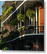 Streets Of New Orleans Metal Print