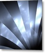 Stripes And Sky Metal Print