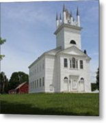 Sudbury Congregational Church  Metal Print
