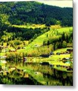 Summer In Norway Metal Print