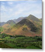 Summer, The Newlands Valley, Lake District National Park Metal Print