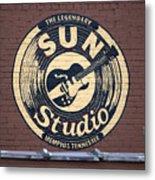 Sun Studio Memphis Tennessee Metal Print by Wayne Higgs