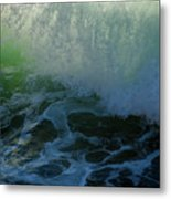 Sunlight And Surf Metal Print