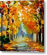 Sunny October Metal Print
