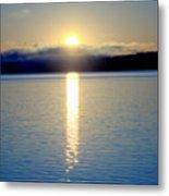 Sunrise 6 8 17 Malletts Bay Metal Print