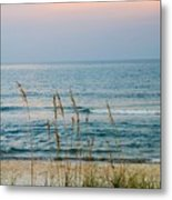 Sunrise And Sand Metal Print