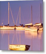 Sunrise At West Bay Osterville Cape Cod Metal Print