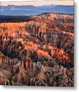 Sunrise In Bryce Canyon Metal Print
