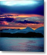 Sunrise Over Uruguay Metal Print