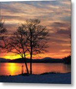 Sunrise Winnipesaukee Metal Print