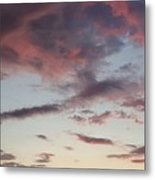 Sunrise With Clouds Il Metal Print