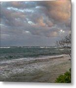 Sunset At Kapaa - Kauai Metal Print