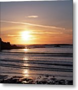 Sunset Bay Moments Metal Print