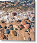 Surf And Stones Metal Print