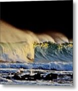 Surfing The Island #2 Metal Print