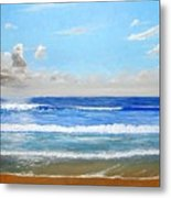 Surfside Morning Metal Print