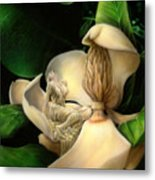 Sweet Smell Of Magnolia's Metal Print