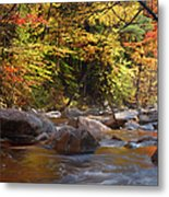 Swift River - White Mountains New Hampshire Usa Metal Print