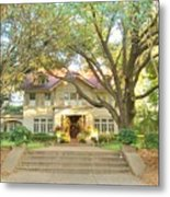 Swiss Avenue Historic Mansion Dallas Texas Metal Print