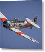 T6 At Reno Air Races Metal Print