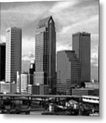 Tampa The Downtown Metal Print