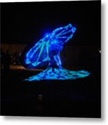 Tanoura Dancer Metal Print