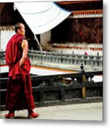 Tashilhunpo Monastery Shigatse Tibet Yantra.lv  Metal Print
