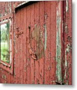 Tattered Metal Print