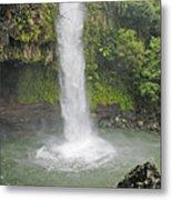 Taveuni, Tavoro Waterfall Metal Print