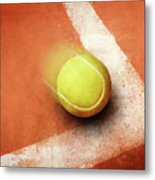 Tennis Point Metal Print