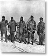 Terra Nova Expedition Metal Print
