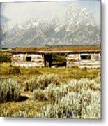 Teton Ranch Metal Print