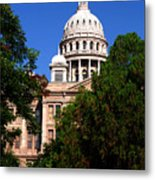 Texas Capitol Building Metal Print