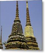 Thailand Architecture Metal Print