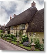 Thatched Cottages Of Hampshire 20 Metal Print