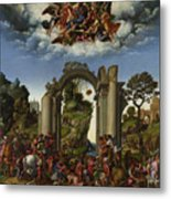 The Adoration Of The Kings Metal Print